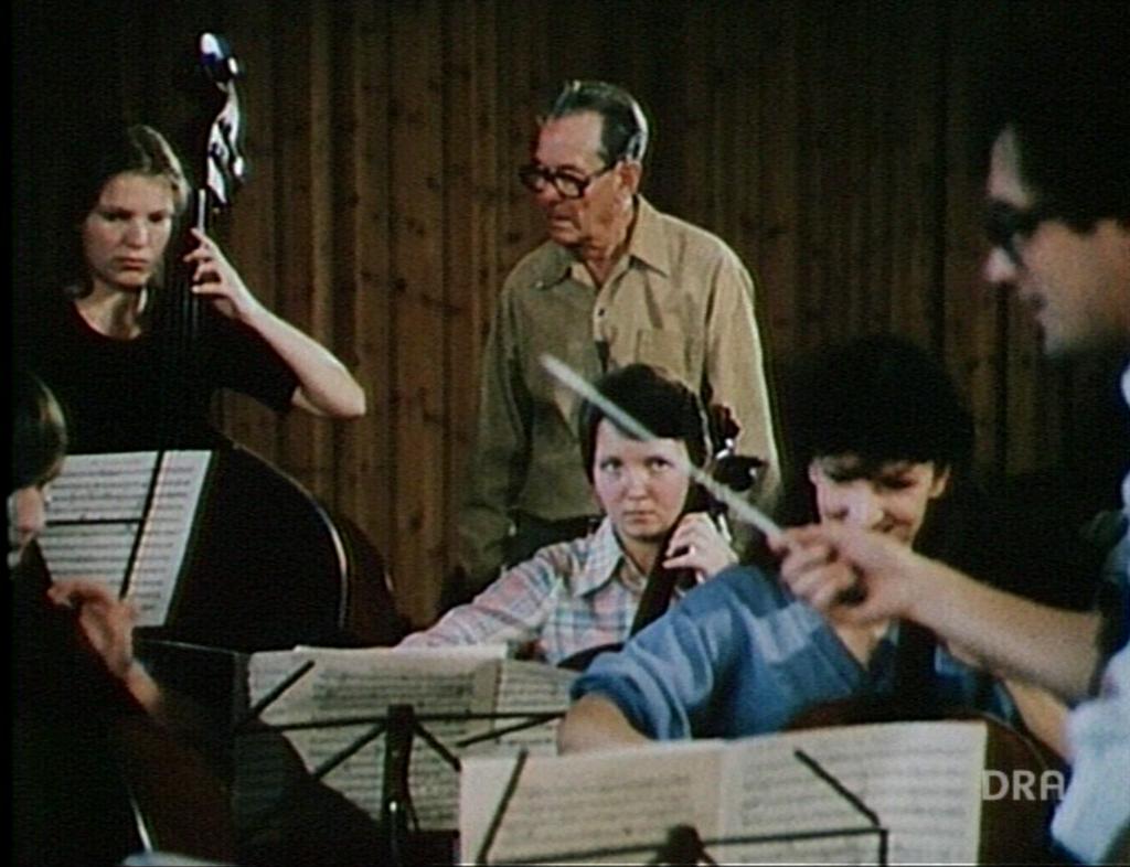Von der Kraft des Liedes (1984): Eberhard Schmidt mit dem Jugendorchester