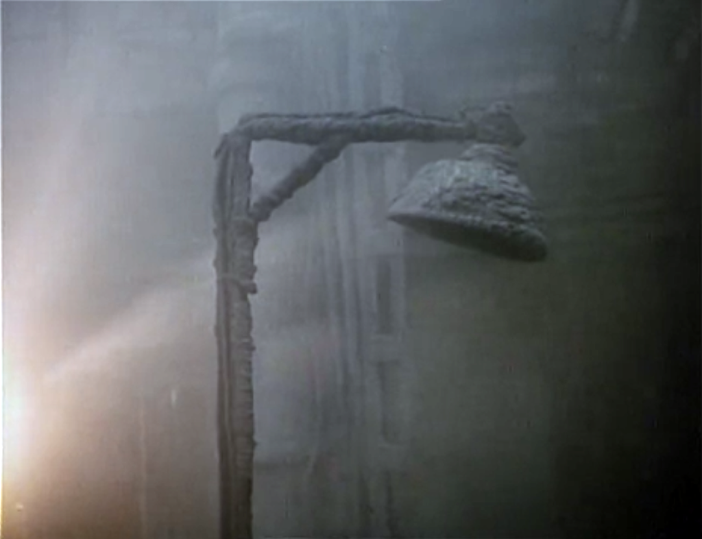 Filmfoto: Belegte Lampe