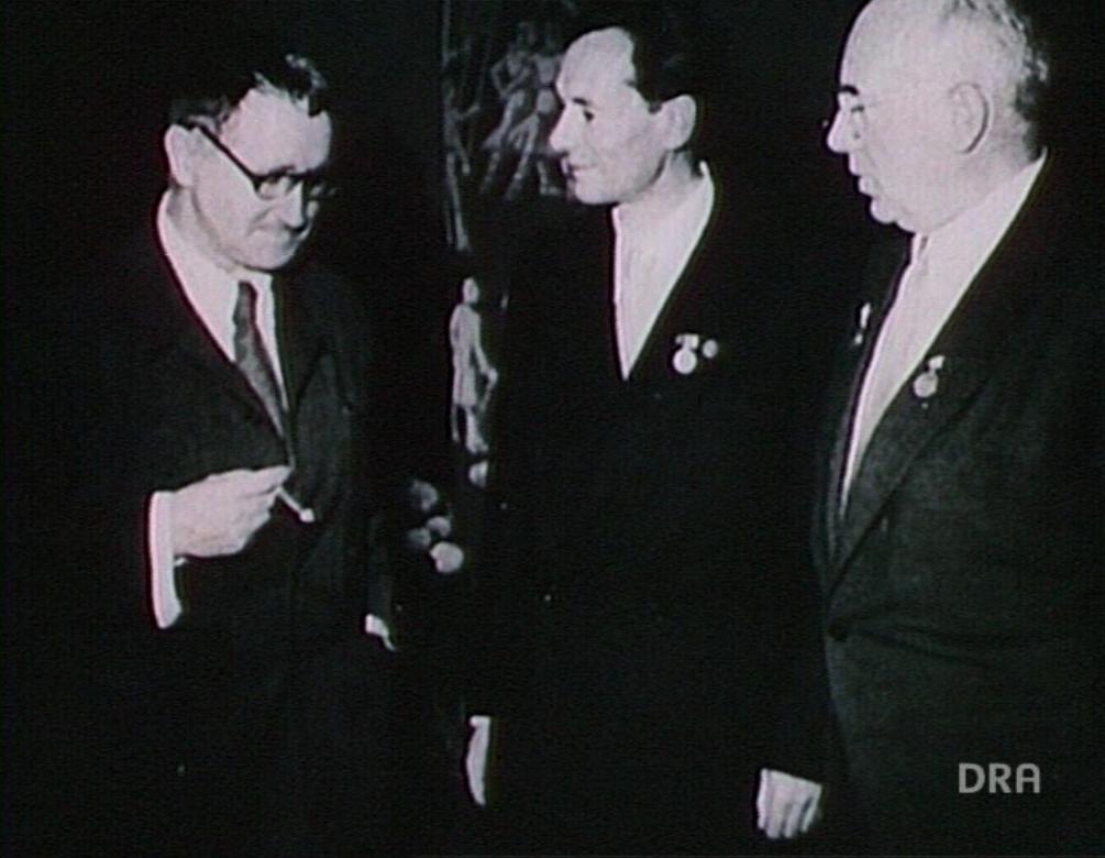 Von der Kraft des Liedes (1984): Eberhard Schmidt mit Brecht und Becher