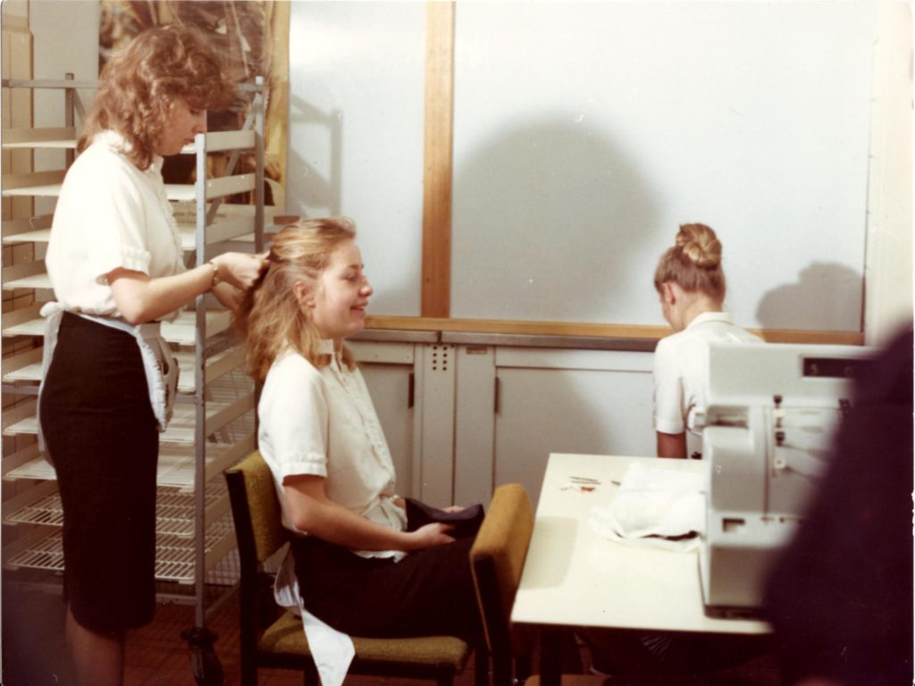 Ostseebox 1986: Kellnerin (Foto: Heiko Koinzer)