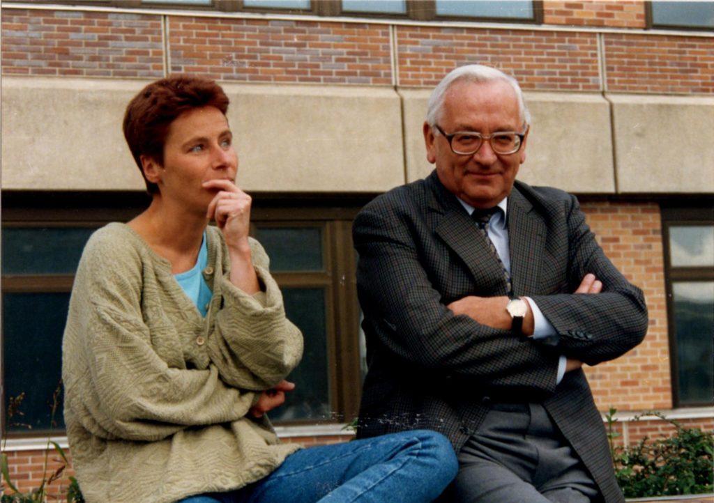 Im Gespräch (Foto: Jürgen Abel)