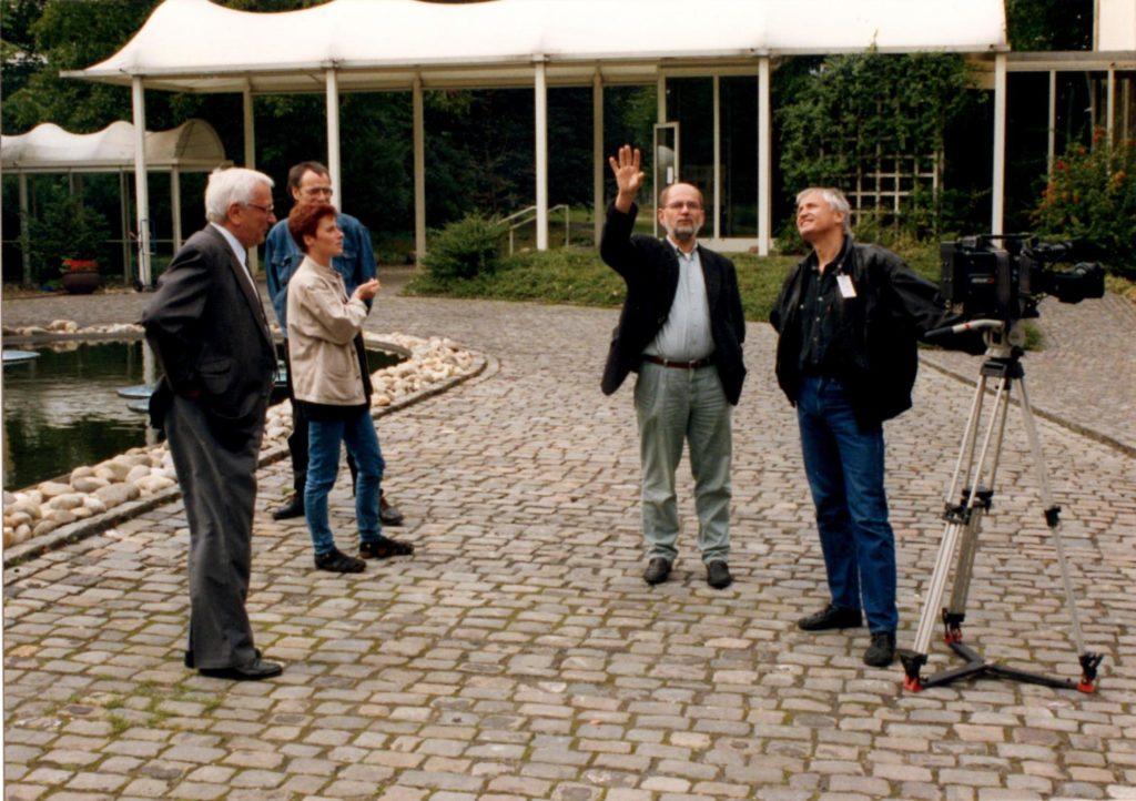 Beim Drehen (Foto: Michael Lösche)