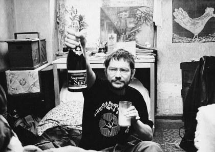 Komm in den Garten (1990): Michael betrunken