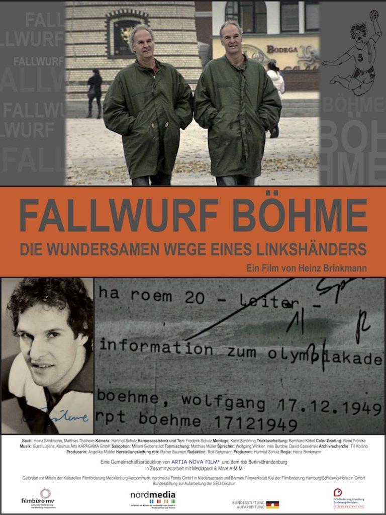Plakat zum Film: Fallwurf Böhme. Die wundersamen Wege eines Linkshänders