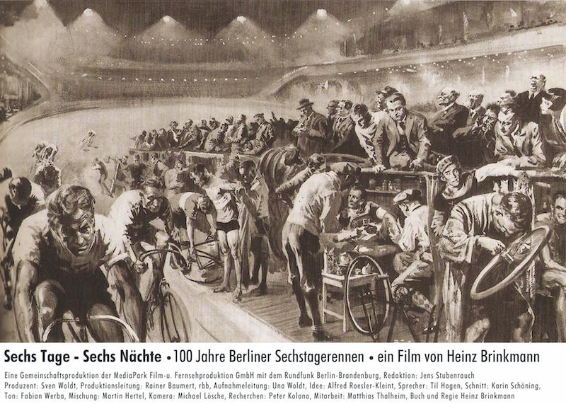 Plakat zum Film: Sechs Tage - Sechs Nächte - 100 Jahr Berliner Sechstagerennen