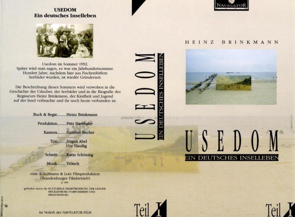 DVD-Cover: Usedom. Ein deutsches Inselleben (1992)