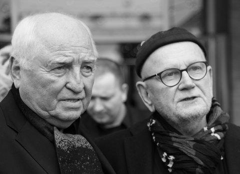 Ulli Wegner und Heinz Brinkmann auf der Berlinale 2018